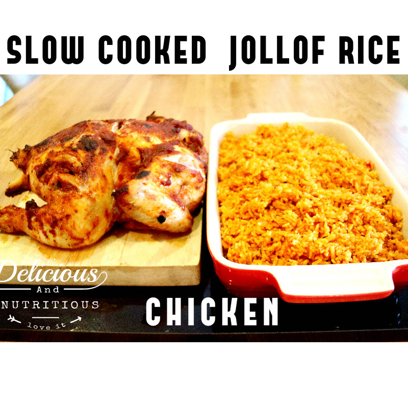 Picture of SLOW COOKED JOLLOF RICE AND CHICKEN