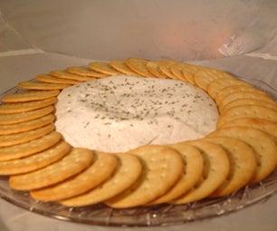 Tangy Yogurt Cheese Spread