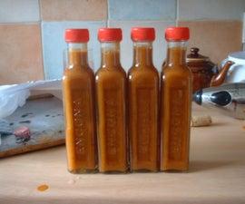 Roasted Hot Pepper Sauce (original recipe)