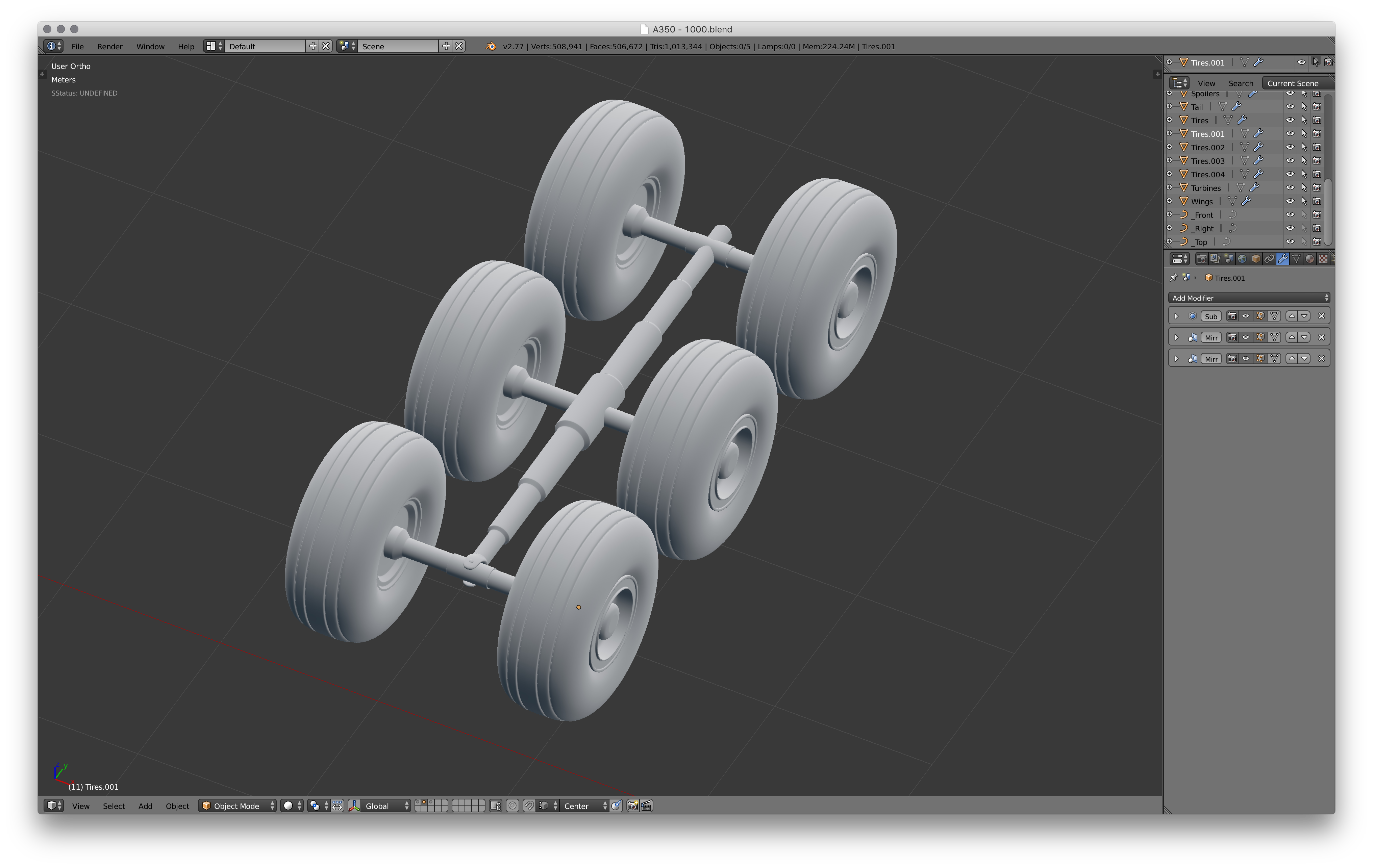 Picture of Rear Landing Gear