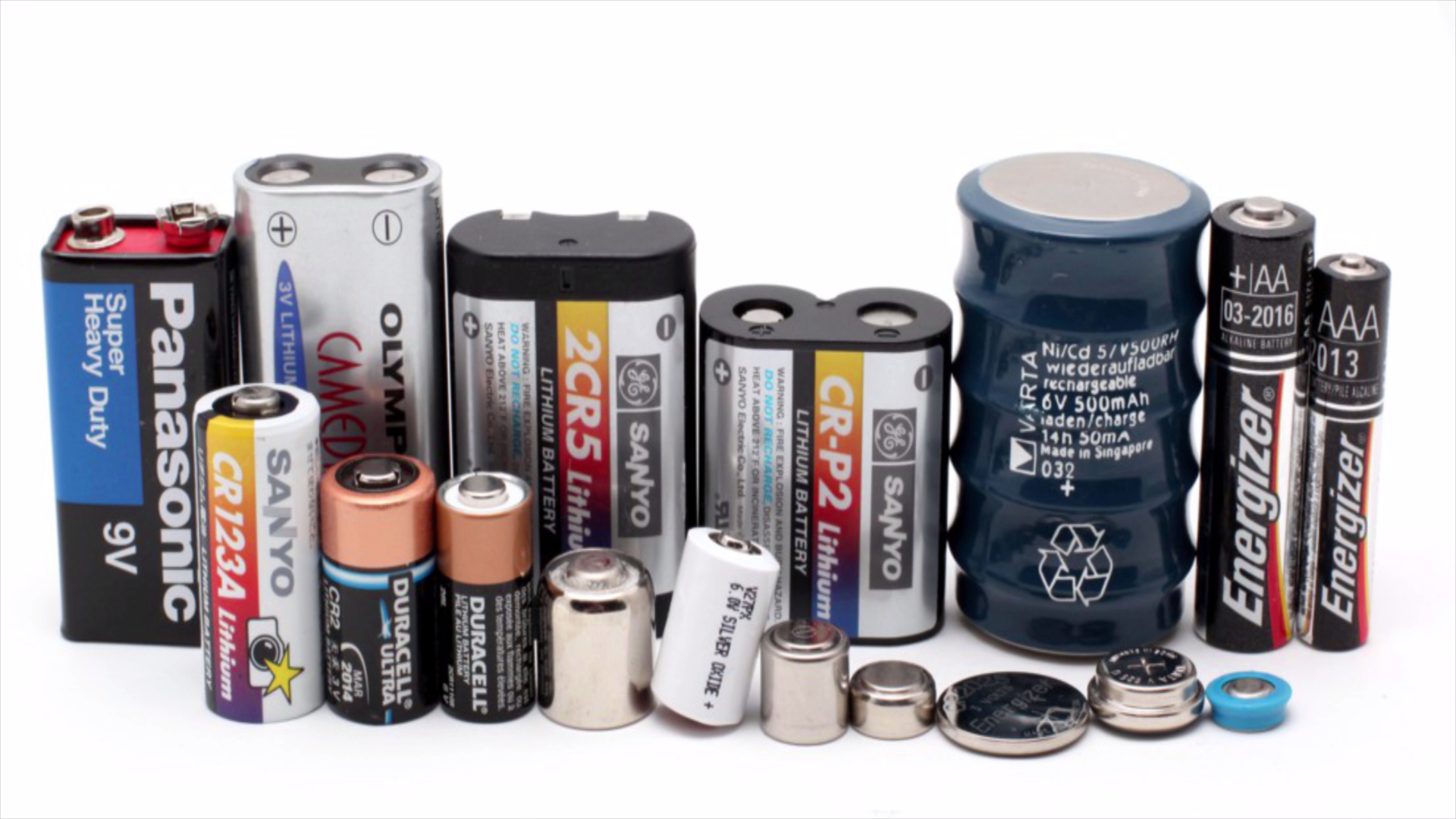 Picture of TYPES OF BATTERIES