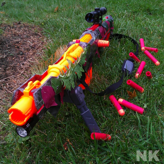 Picture of Nerf Mega Centurion SuperTak Modifications