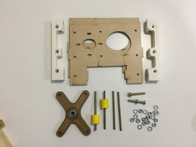 Base Plate and Lower Bearing Support