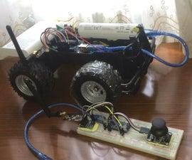Arduino遥控车(W / NRF24L01和L298N)
