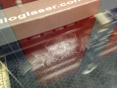 Laser Etching the Buckle