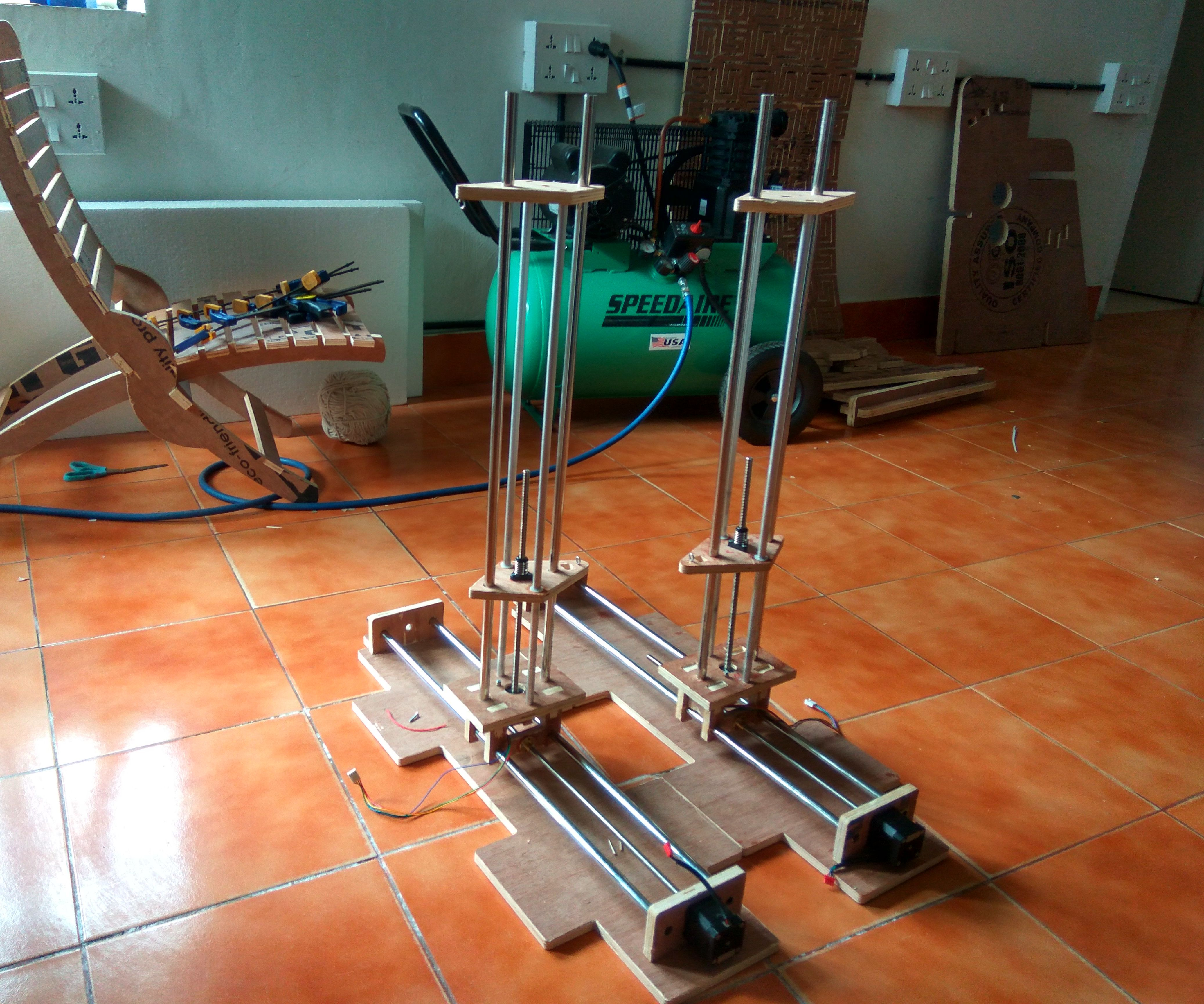 4-Axis CNC Hot-wire Foam Cutter (Arduino+Ramps1 4): 9 Steps (with
