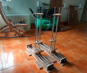 4-Axis CNC Hot-wire Foam Cutter (Arduino+Ramps1.4)