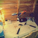 Workbench from a pallet