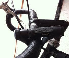 Simple handlebar mount for EDC light