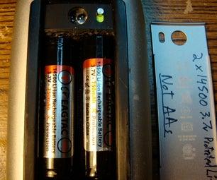 Magic Mouse (A1296) 14500 Rechargeable 3.7v Li-ion Conversion
