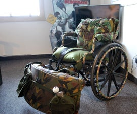 Wheelchair in Camouflage