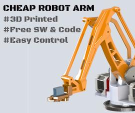 Robot Arm MK2 Plus (Stepper Motor Used)