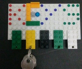 Lego keys organizer