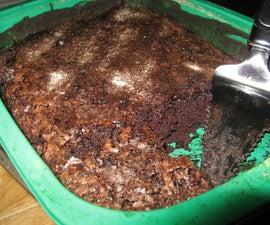 One-Pan Chocolate Cake: Gluten free, dairy free, egg free!
