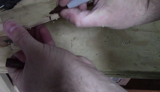 Drill Holes for the Magnets