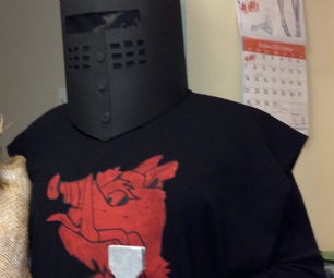 """The Black Knight Costume (from """"Monty Python and the Holy Grail"""")"""