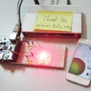 [Tutorial for 4DIY.ORG] - How to control LED's with iphone using [4DIY.ORG] App and Ethernet Shield