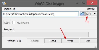 Picture of Prepare the SD Card