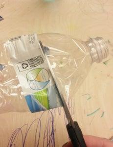 Cut Water Bottle Top Off