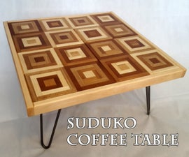Suduko Coffee Table