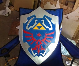 How to Make a Hylian Shield out of Plywood