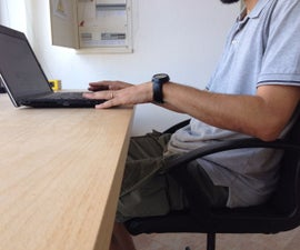 IKEA chair ergonomic hack, 3D printed