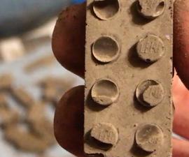 Concrete Lego Bricks