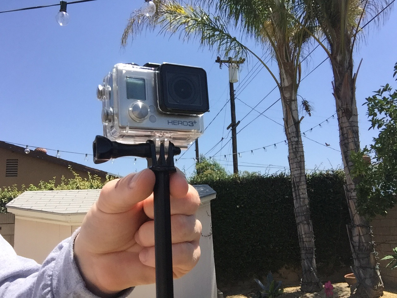 Picture of GoPro Stabilizer With the Extendable Pole You Already Own
