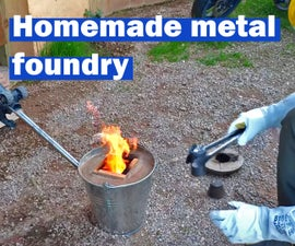 How to Make the Simplest Metal Foundry