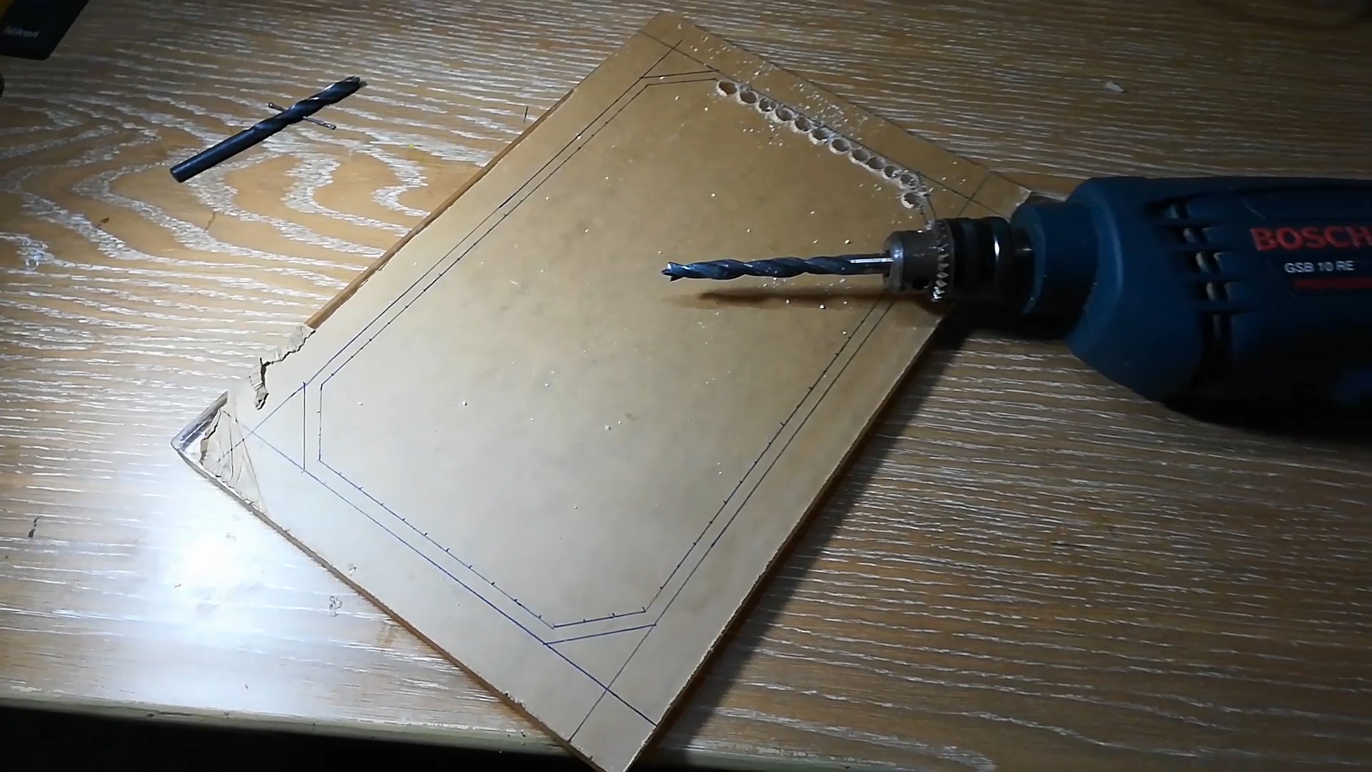 Picture of Cutting the Sheets