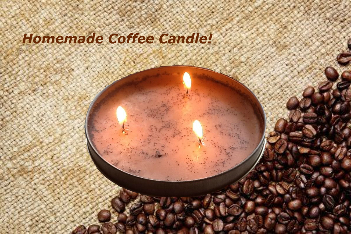 Picture of Homemade Coffee Candle!