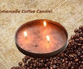 Homemade Coffee Candle!