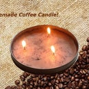 Homemade Coffee Candle!