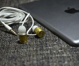 DIY .45 Caliber Earphone