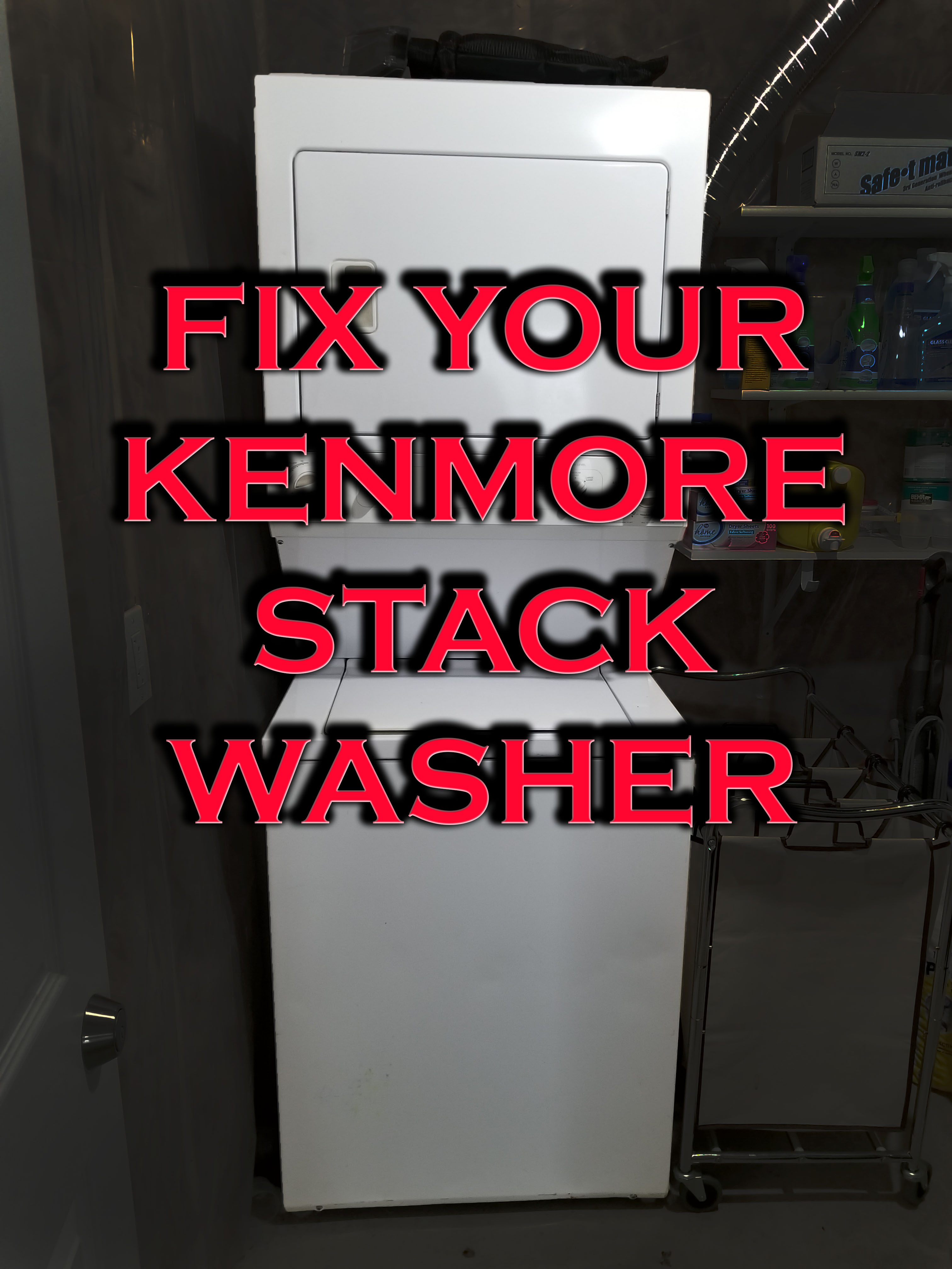 Picture of Fix Your Kenmore Stack Washer