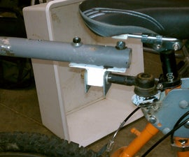 How to Make a Pedicab Trailer Hitch Using Car Steering Tie Rod
