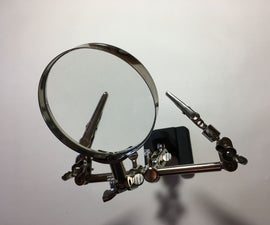 """Gorillapod arms for a magnifying """"third hand"""""""
