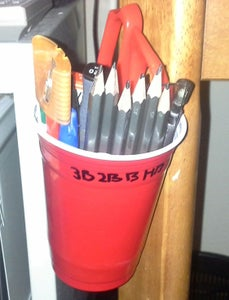 Desk/Table Mounted Stationary Cup