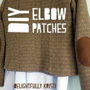 DIY Elbow Patches (Doctor Who)