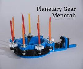How to Make a Planetary Gear Menorah