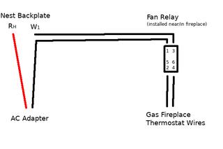 [DIAGRAM_38DE]  Nest Thermostat With Gas Fireplace (or Other Millivolt System) : 5 Steps  (with Pictures) - Instructables | Wiring Diagram For A Gas Fireplace Blower |  | Instructables