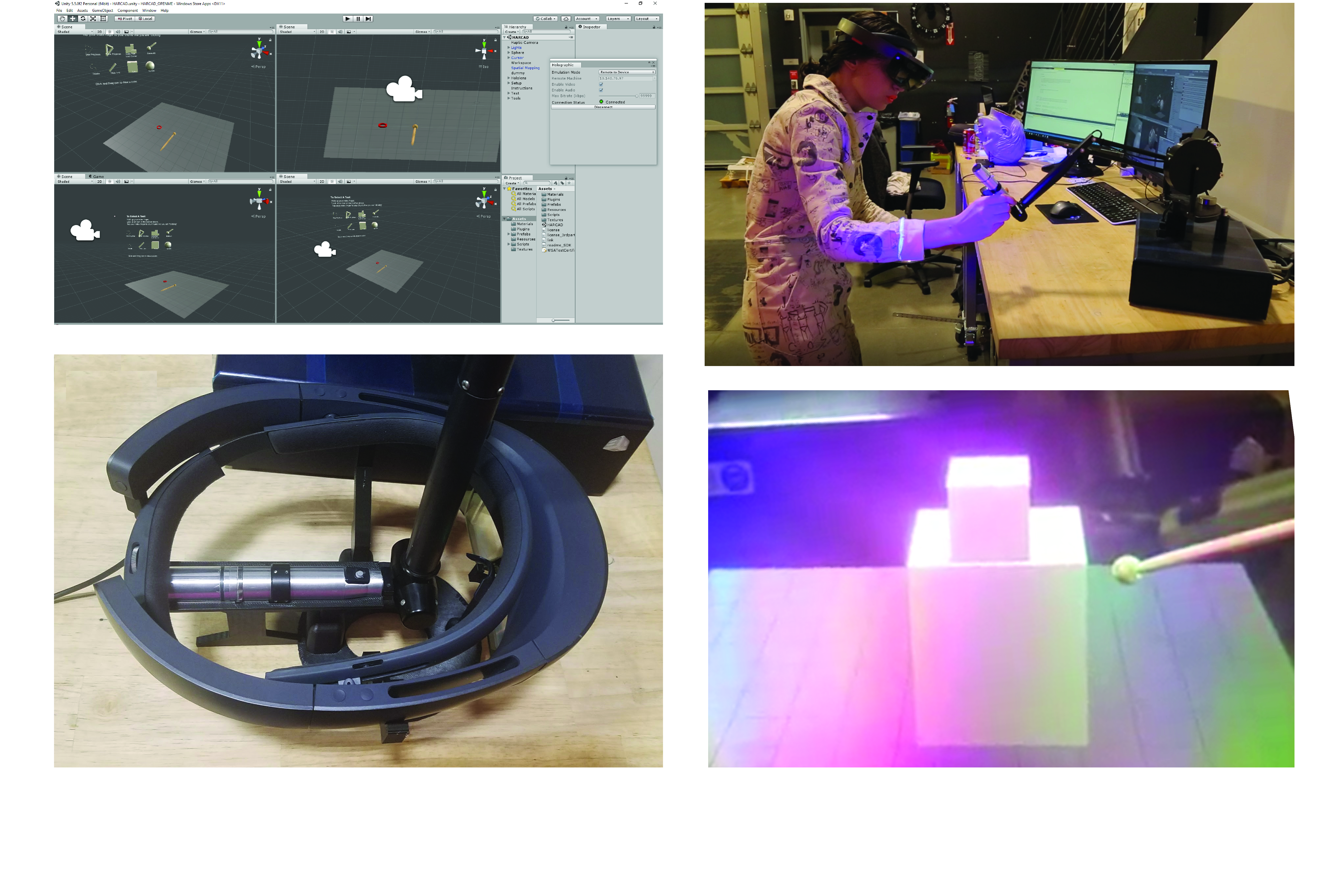 Picture of Haptic Augmented Reality CAD [HARCAD]