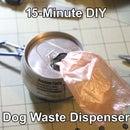 15-Minute DIY Dog Waste Bag Dispenser