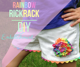 Rainbow Rick Rack - 1/2-Hour Shorts Upgrade