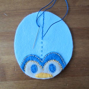 Bug 1 - Stitch Pieces and Embroider