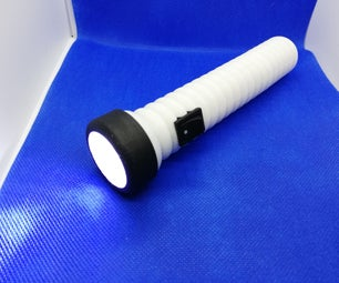 USB Rechargeable Eco Friendly Flashlight