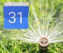 Irrigation Using Google Calendar!