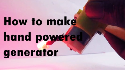 Hand Power Electricity Generation