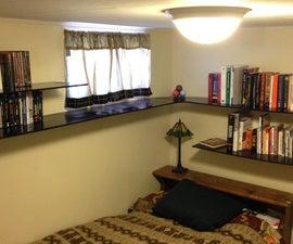 Double Wall Curved Bookshelf