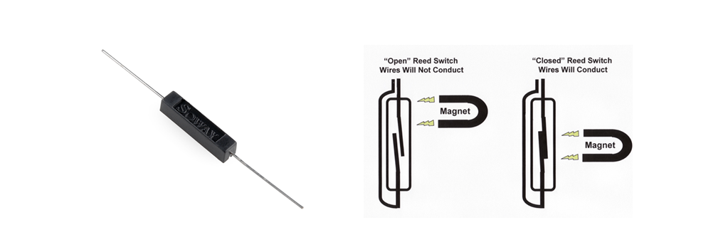 Picture of Connecting the Reed Sensors